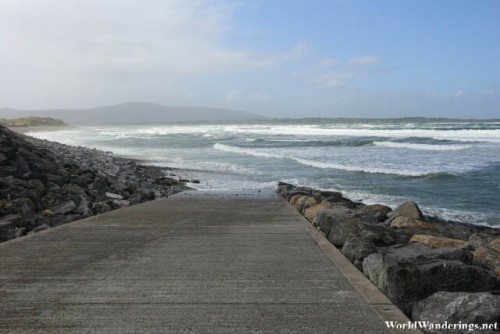 Approaching the Beach at Strandhill