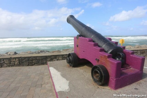 Old Cannon at Strandhill