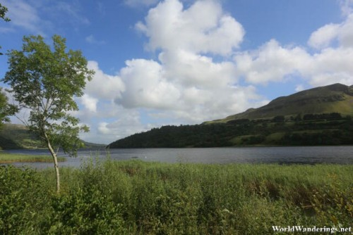 On the Shores of Glencar Lake in County Leitrim