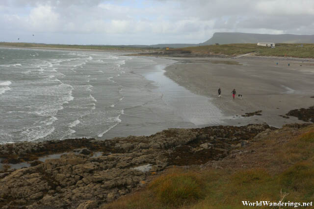 Overlooking the Beach at Rosses Point