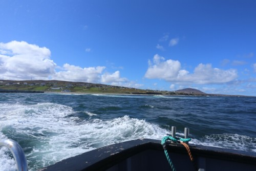 Riding the Ferry to Tory Island
