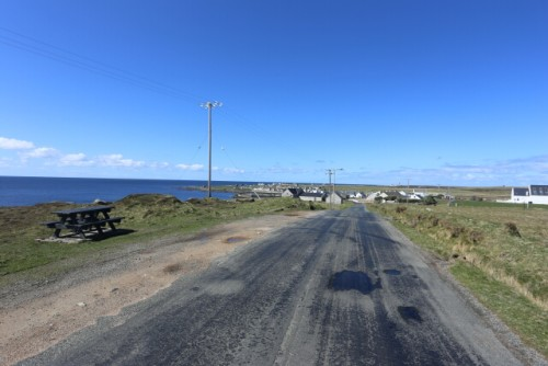 Main Road at Tory Island