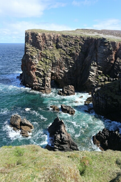 Close Up Look at the Cliffs at Tory Island