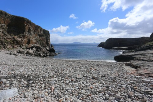 Rocky Beach for Lunch at Tory Island