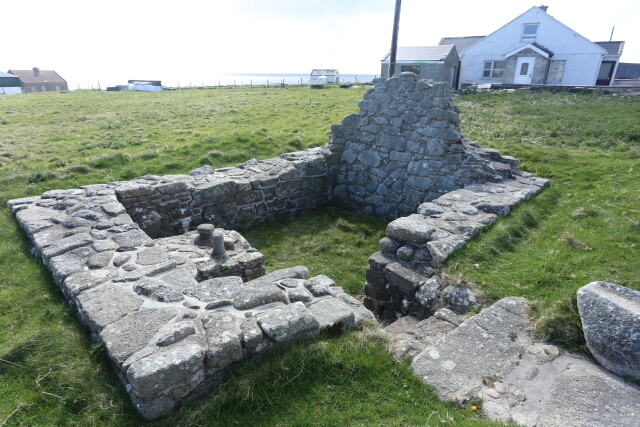 Grave of the Seven at Tory Island