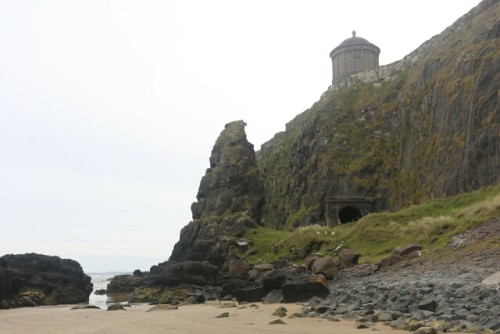 Closer Look at the Mussenden Temple at Downhill