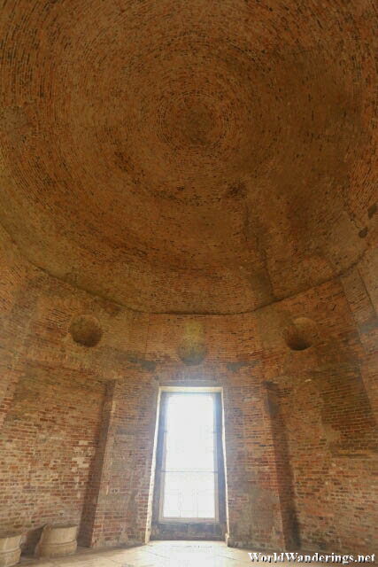 Bare Interior of the Mussenden Temple