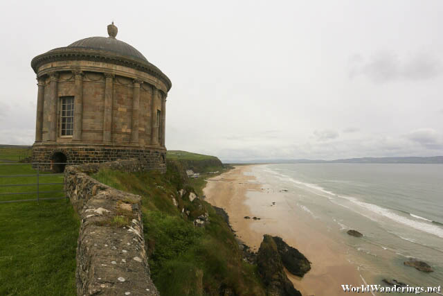 Mussenden Temple by Downhill Strand