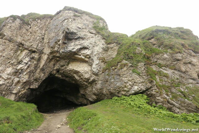 Cave at Ballintoy Harbour