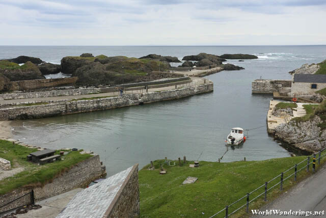 Looking Towards Ballintoy Harbour
