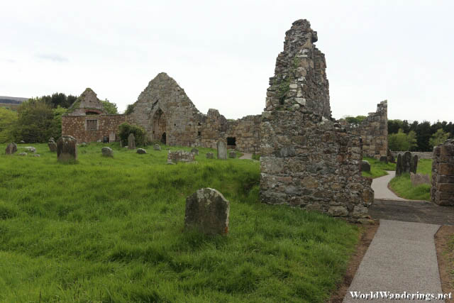 Ruins of the Bonamargy Friary
