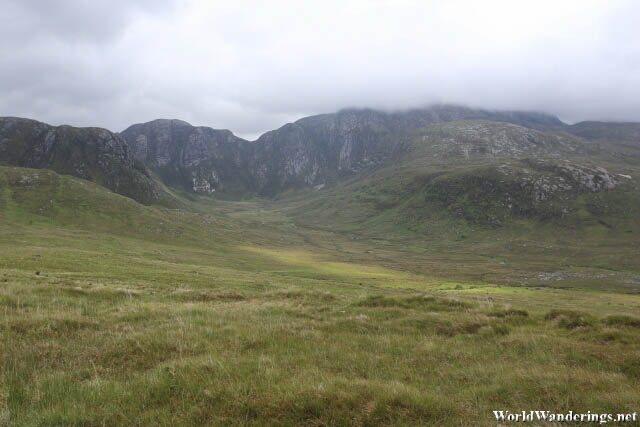 Limestone Mountains at Dunlewey