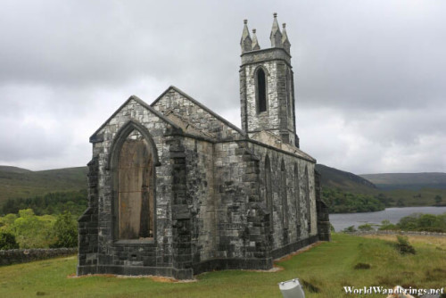Ruins of the Dunlewey Church of Ireland