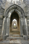 Inside the Ruins of the Dunlewey Church of Ireland