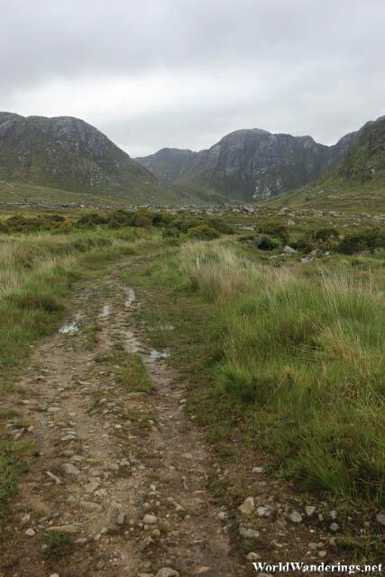 Walking Towards the Mountains at the Poisoned Glen