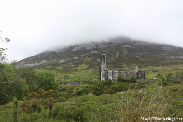 Dunlewey Church of Ireland at the Foot of Mount Errigal