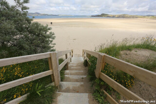 Going Down to Marble Hill Blue Flag Beach