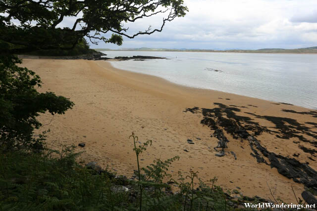 Sandy Beach at Ards Friary