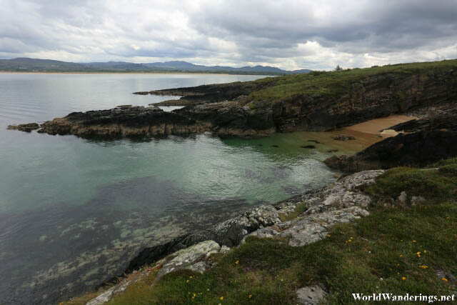 Rocky Shore at Ards Forest Park