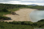 Secluded Beach at Ards Forest Park