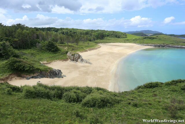 Beautiful Beach at Ards Forest Park