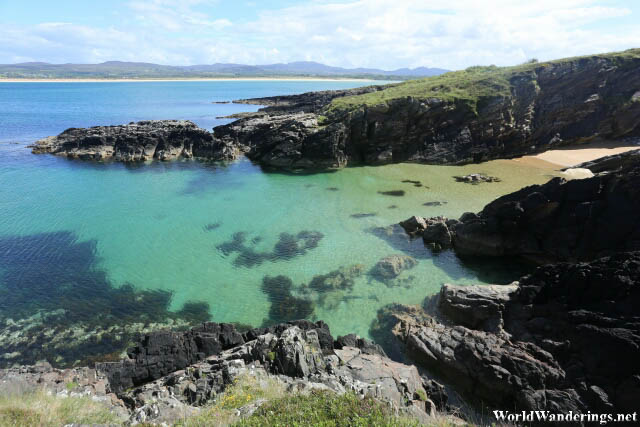 Crystal Clear Waters at the Ards Forest Park Coast