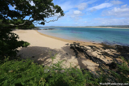 Secluded Beach in Ards Forest Park