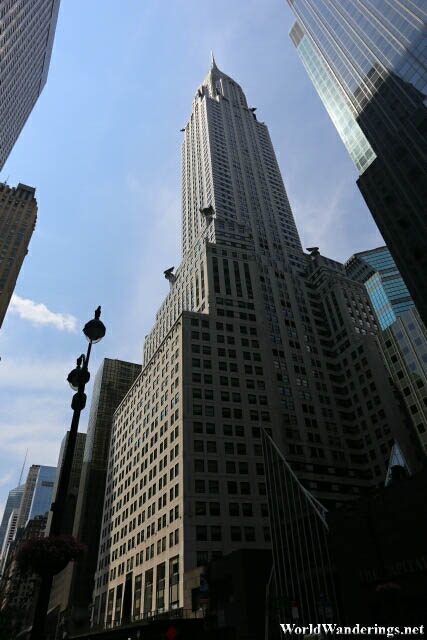 Chrysler Building in New York City