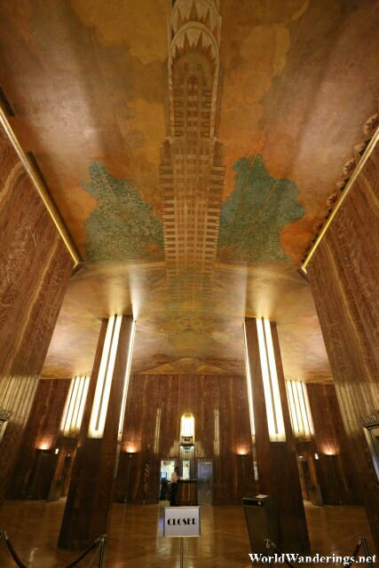 Entrance Lobby of the Chrysler Building