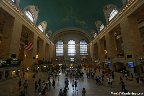 Grand Central Terminal Concourse in New York City