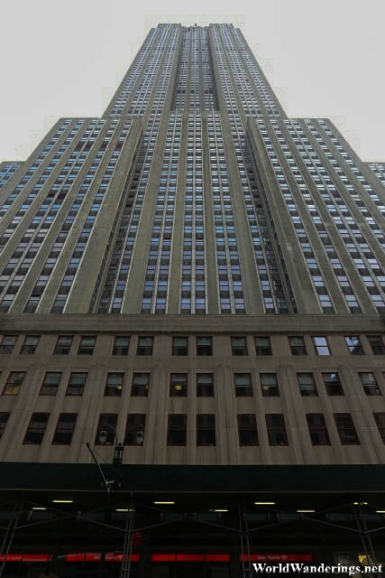 The Imposing Empire State Building in New York City