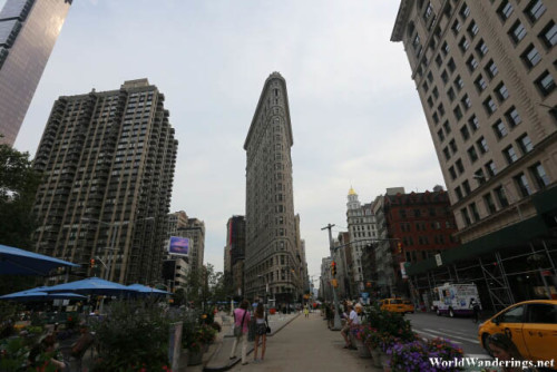 A Look at the Flatiron Building in New York City