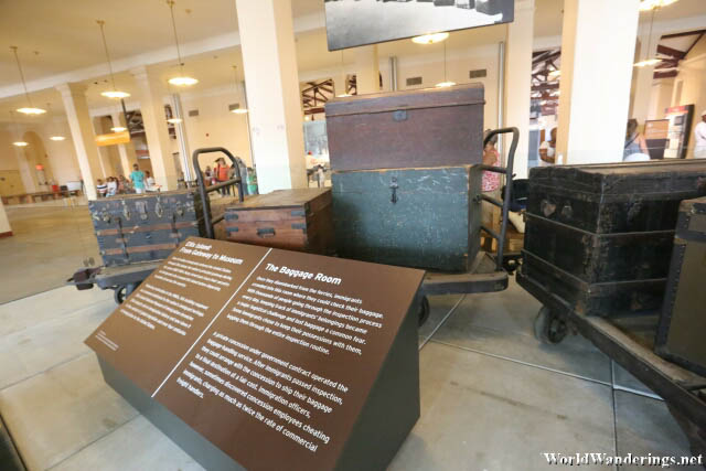 Exhibits Inside the Ellis Island Immigration Station