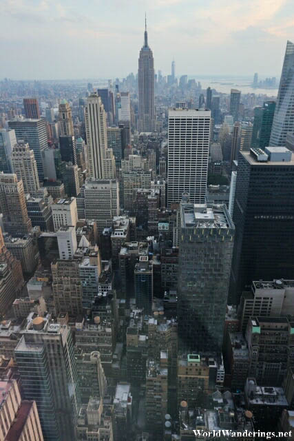 Amazing New York Scenery from the Top of the Rock