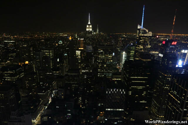 New York City at Night from the Top of the Rock