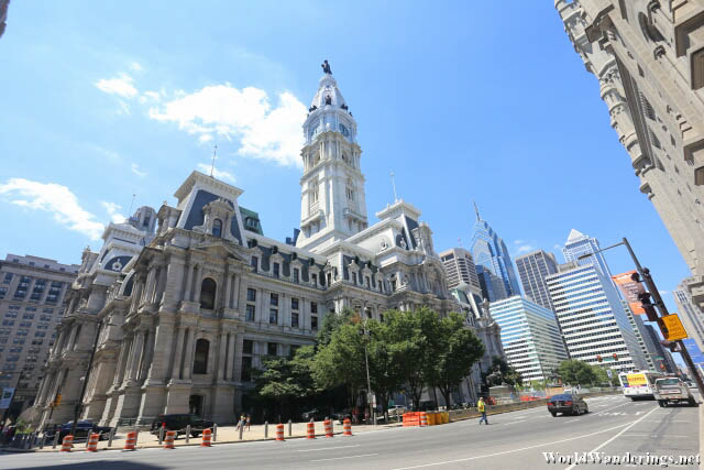 Imposing Philadelphia City Hall