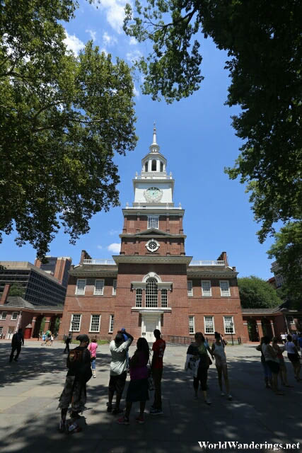 South Facade of the Independence Hall