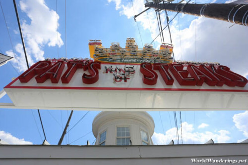 Pat's King of Steaks in Philadelphia