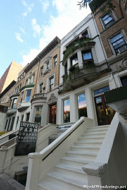 Walk Up Apartments at New York's Upper West Side