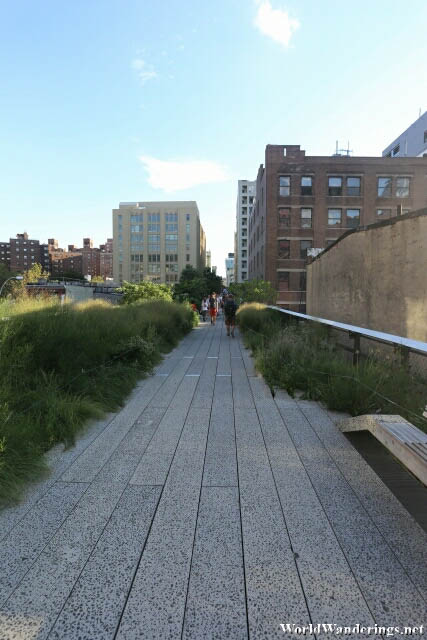Walking Along the High Line