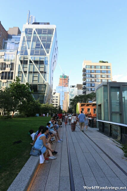 Following the Railway Line at the High Line
