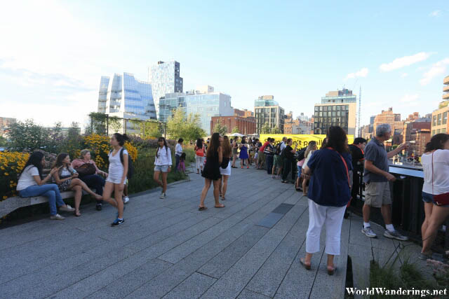 Open Area at the High Line