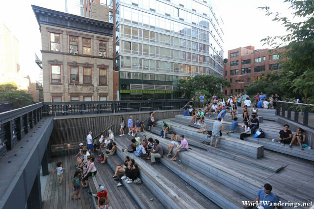 Viewing Area at the High Line