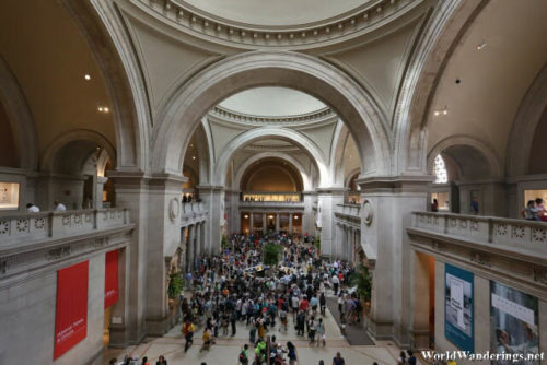 Atrium of the Metropolitan Museum of Art in New York