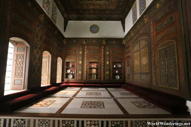 Replica of a Islamic Designed Room at the Metropolitan Museum of Art