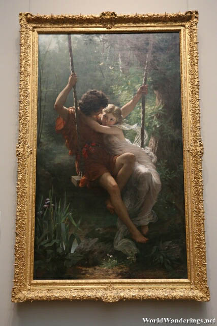 Springtime by Pierre-Auguste Cot at the Metropolitan Museum of Art in New York