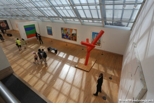 Modern Art Gallery at the Metropolitan Museum of Art in New York