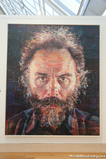 Mosaic of Smaller Pictures at the Metropolitan Museum of Modern Art in New York