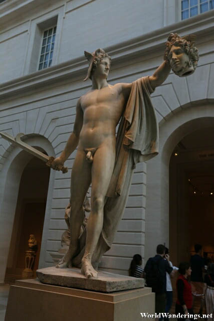 Perseus Slaying Medusa at the Metropolitan Museum of Art in New York