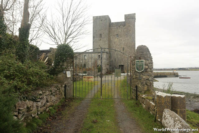 At the Gates of Oranmore Castle